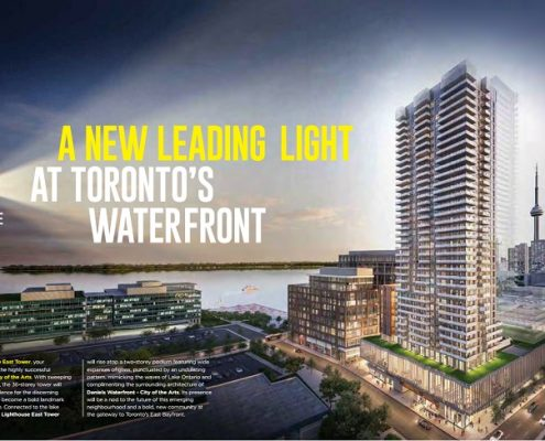 Daniels Waterfront Condos Lighthouse East Tower