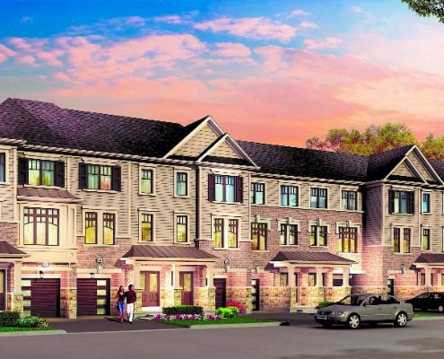 Townhomes in Bowmanville