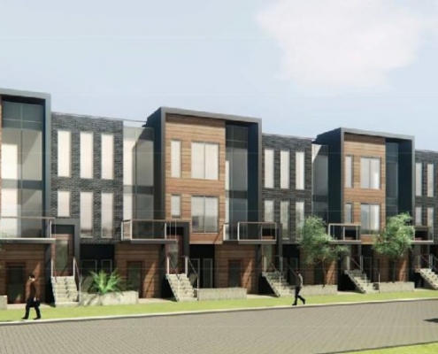 4HUNDRED EAST MALL Stacked Town Homes