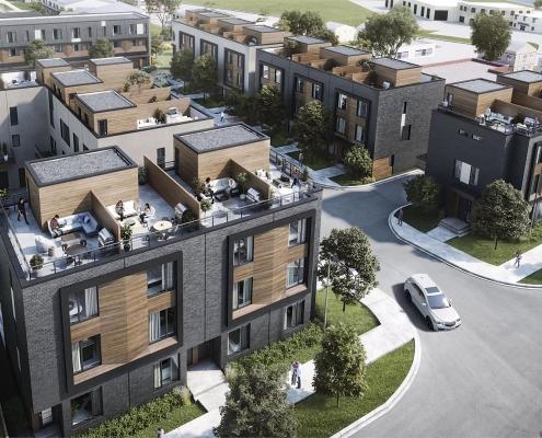 Terraces at Eglinton Towns