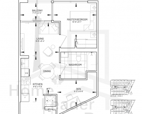 The Manderley Floor plans
