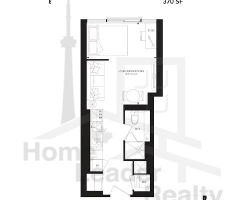 PRIME Condos - Floor plan - Prime 370
