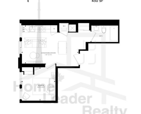 PRIME Condos - Floor plan - Prime 450