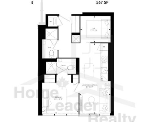 PRIME Condos - Floor plan - Prime 567