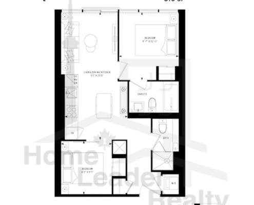 PRIME Condos - Floor plan - Prime 610