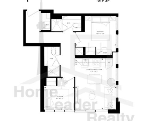 PRIME Condos - Floor plan - Prime 619
