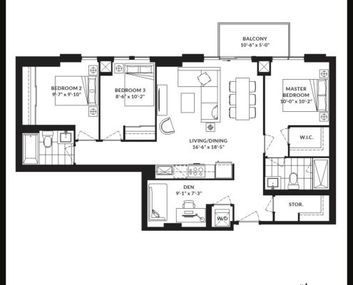 Stockyards Districts Condos Floor Plans